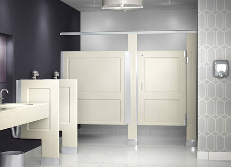 RESISTALL PARTITIONS® - Solid Plastic Washroom Partitions