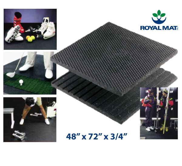 "Royal Mat 48"" x 72"" x 3/4"" Only"