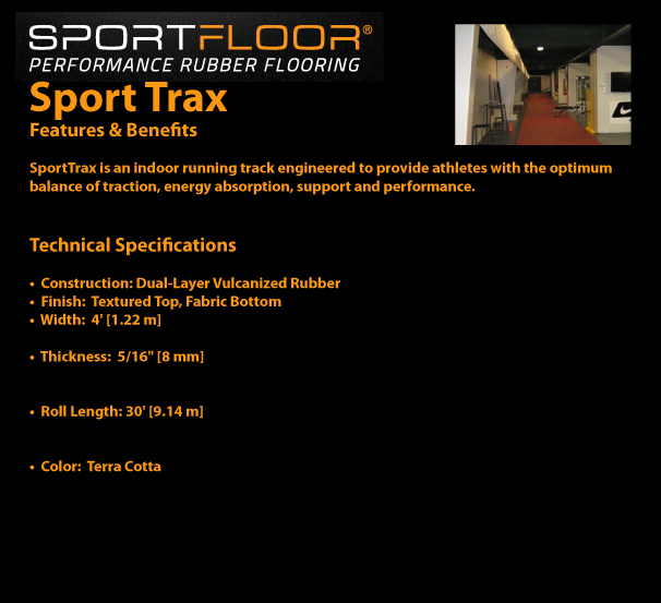 SPORTFLOOR - Sport Trax Features and Benefits / Technical Specifications